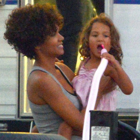 Halle Berry and Nahla Aubry Pictures