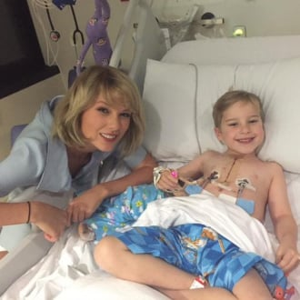 Taylor Swift at Children's Hospital Australia July 2016