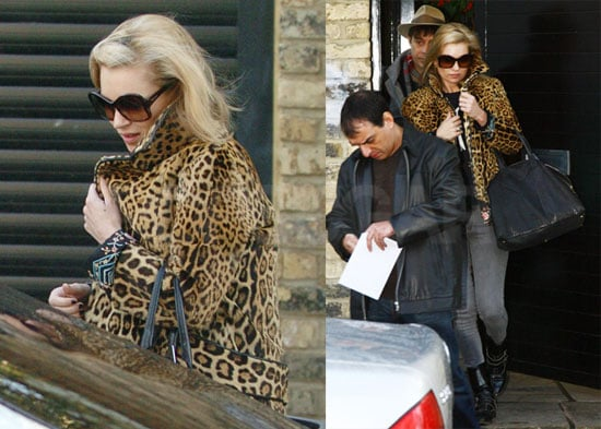 Photos of Kate Moss and Jamie Hince Out in London 2008-12-17 16:00:30