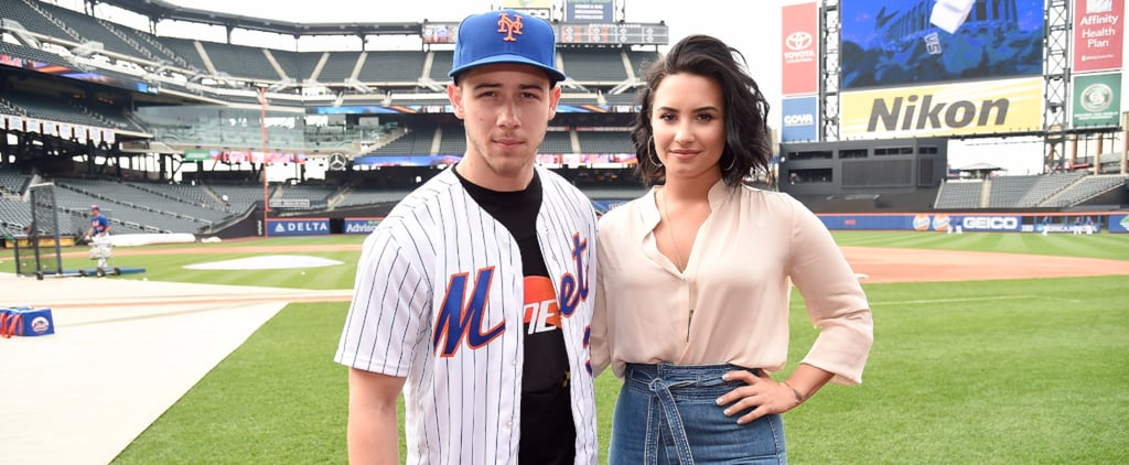 Nick Jonas and Demi Lovato Hit It Out of the Park With Their Latest Outing