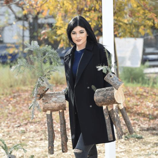 Kylie Jenner's Holiday Decor