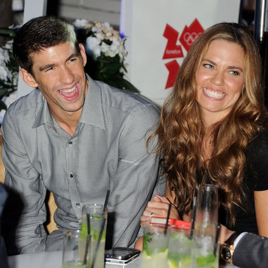 Michael Phelps and Natalie Coughlin at London Event