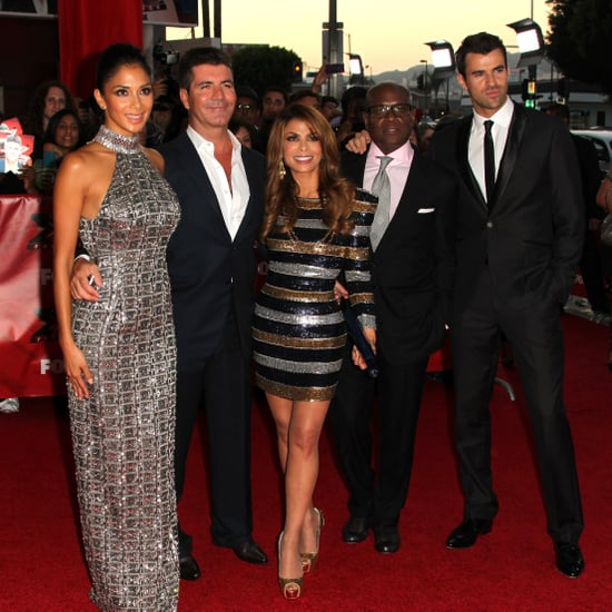 US X Factor Premiere Pictures With Simon Cowell, Paula Abdul