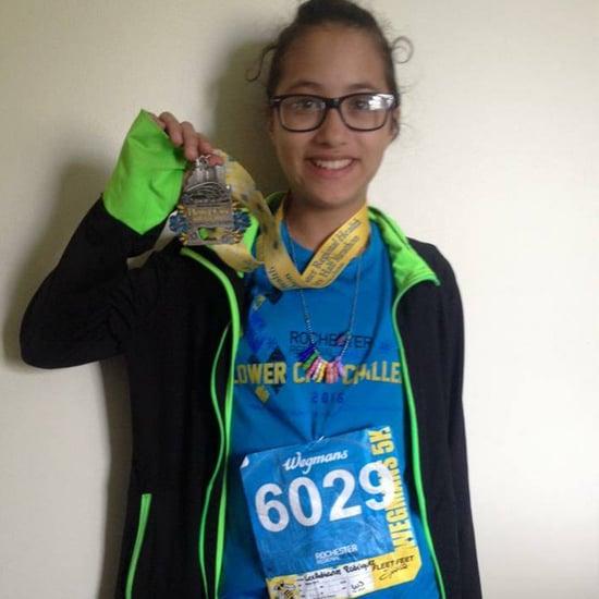 12-Year-Old Girl Runs Half-Marathon on Accident
