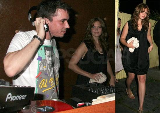 Mandy and DJ AM Reunite in the Hamptons