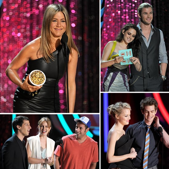 Jennifer and Johnny, Twilight and Hunger Games — Highlights From the MTV Movie Awards