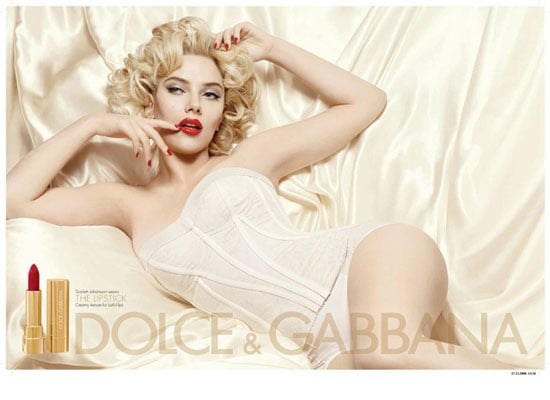 Scarlett Johansson Named Face of New Dolce and Gabbana Makeup Line