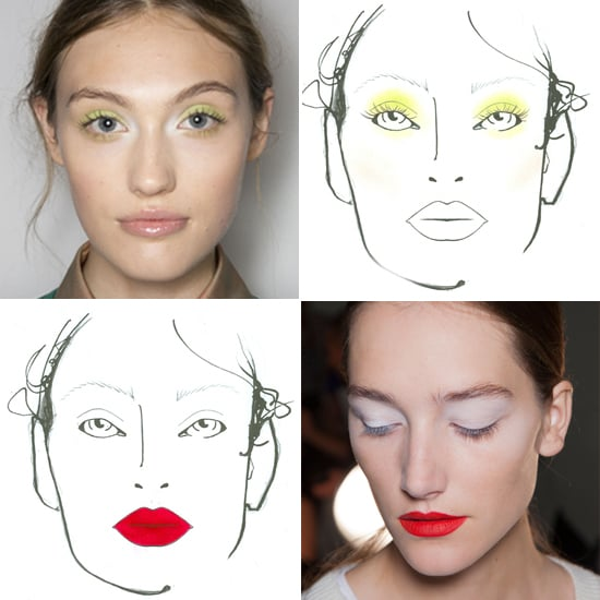 From Rough Sketch to Runway, See NYFW Makeup Artists' Ideas Come to Life