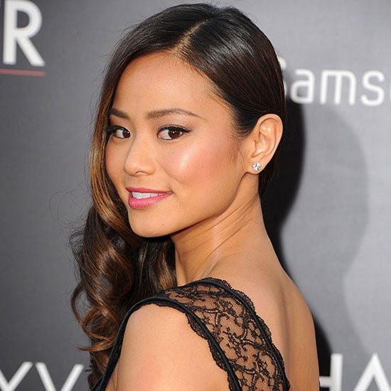 Jamie Chung Wearing a Black Dress at Hangover 3 Premiere