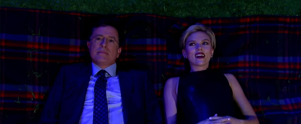 Scarlett Johansson Hilariously Ponders Life's Most Important Questions With Stephen Colbert