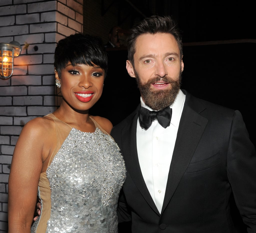 Jennifer Hudson and Hugh Jackman
