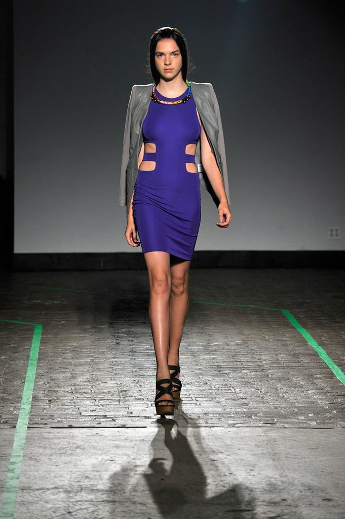 Yigal Azrouel's skin-baring cutout dress for Cut25 would be a welcome addition to any girl's sexy statement dresses.