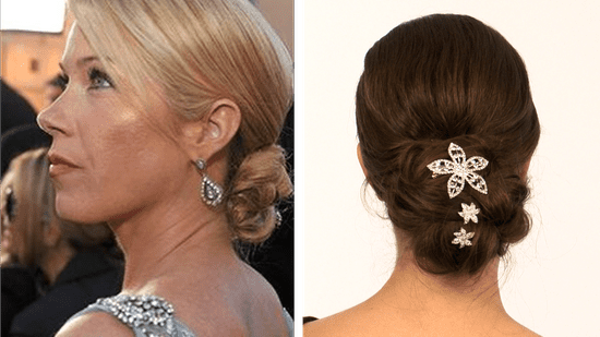 Christina Applegate hairstyle 2010 SAG Awards, red carpet beauty