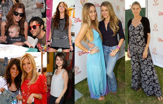 Photos of Celebrities at A Time For Heroes Celebrity Carnival Including Heidi Klum, Lauren Conrad, Miley Cyris, Ashlee Simpson