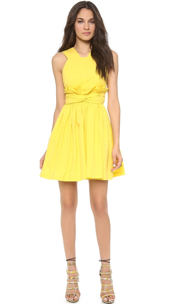 MSGM Yellow Dress
