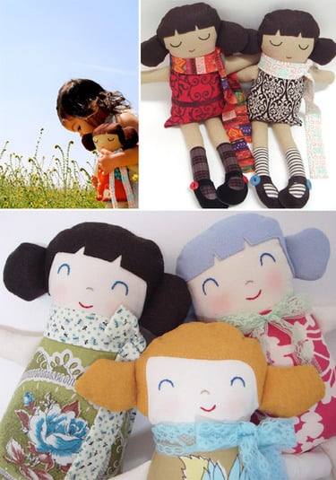 Lil Links: Eco-friendly Craftsbury Kid Dolls