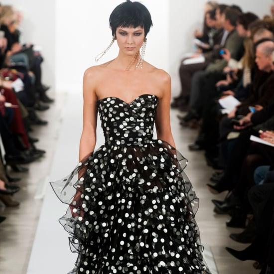 Oscar de la Renta Fall 2014 Runway Show   NY Fashion Week