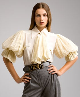 Puffy-Sleeve Blouses: Love It or Hate It?