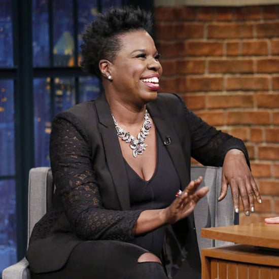 Leslie Jones Talks About Twitter With Seth Meyers 2016
