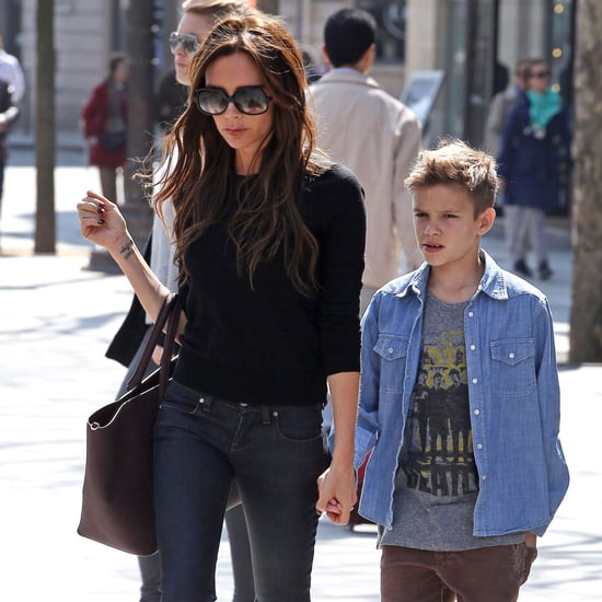 Victoria Beckham at the Louvre With Family | Photos