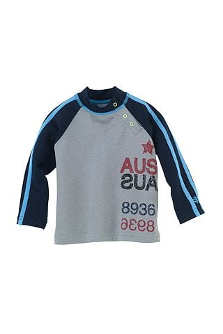 One of the best features of this protective Baby Boy Rashguard ($30) is the trio of snaps at the neck, making it extrabreathable and comfy.