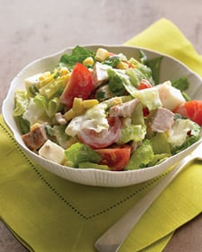 Recipe For Spicy Pork Salad and Buttermilk Dressing