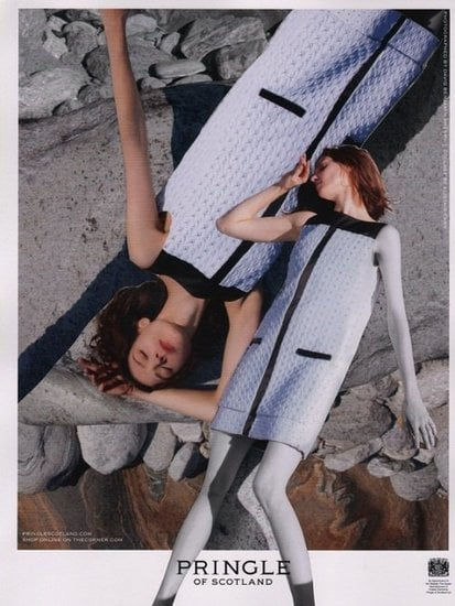The Pringle of Scotland Spring 2012 ads go super mod. Source: Fashion Gone Rogue
