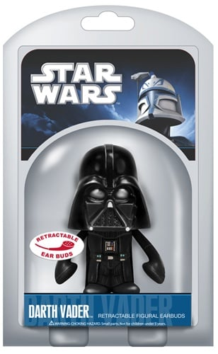 Photos of the Funko Star Wars Earbuds