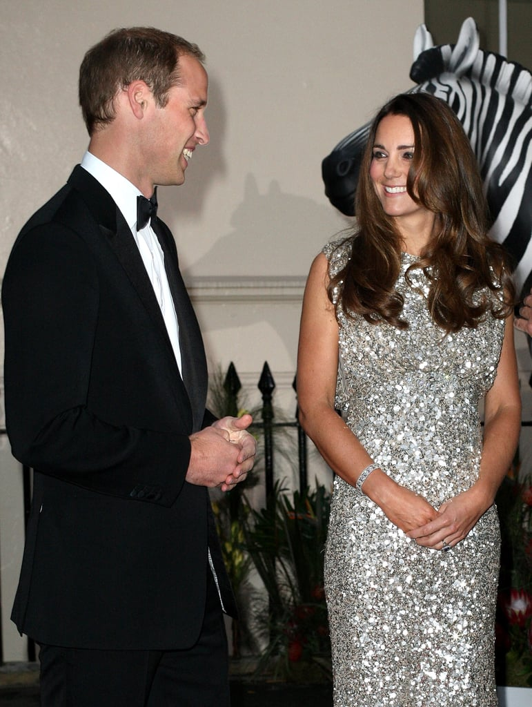 The couple exchanged a sweet look at the Tusk Conservation Awards in London in September 2013.