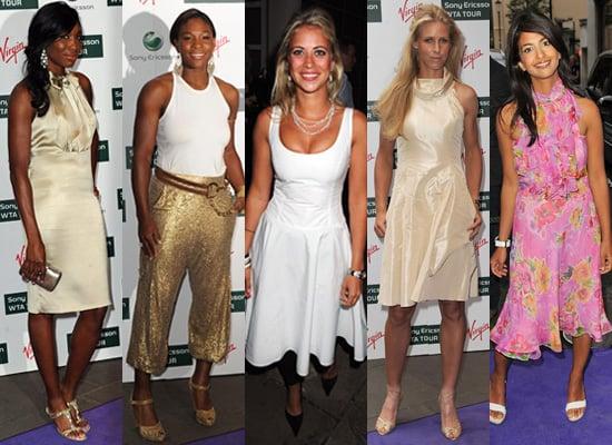 Photos of Serena Williams, Venus Williams Ralph Lauren Party