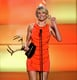 Cameron Diaz made an orange statement when she took the stage at the 2008 Guys Choice Awards.