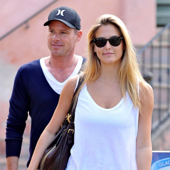 Bar Refaeli and David Fisher Shopping in St. Tropez Pictures