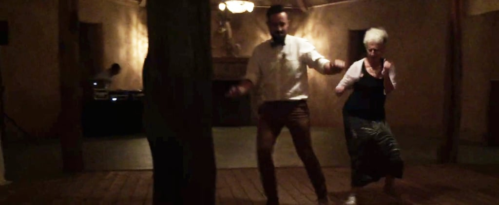 Watch This Mom's Mad Zumba Skills Steal the Show at Her Son's Wedding