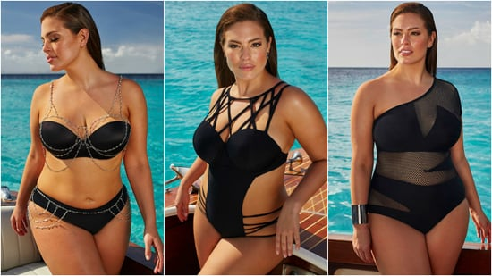Ashley Graham Models Her Sexy New Swimsuit Line for Women With Curvy Figures -- See the Pics!