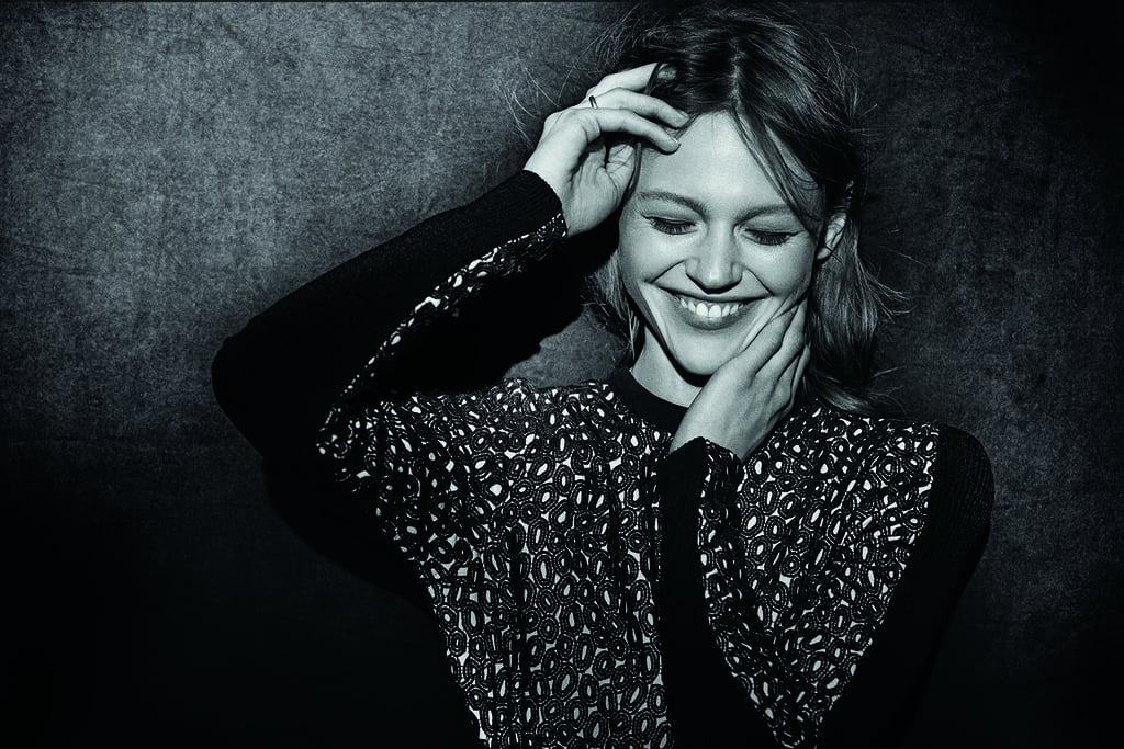 Sasha Pivovarova, wearing Proenza Schouler, photographed by Peter Lindbergh. Photo courtesy of the CFDA