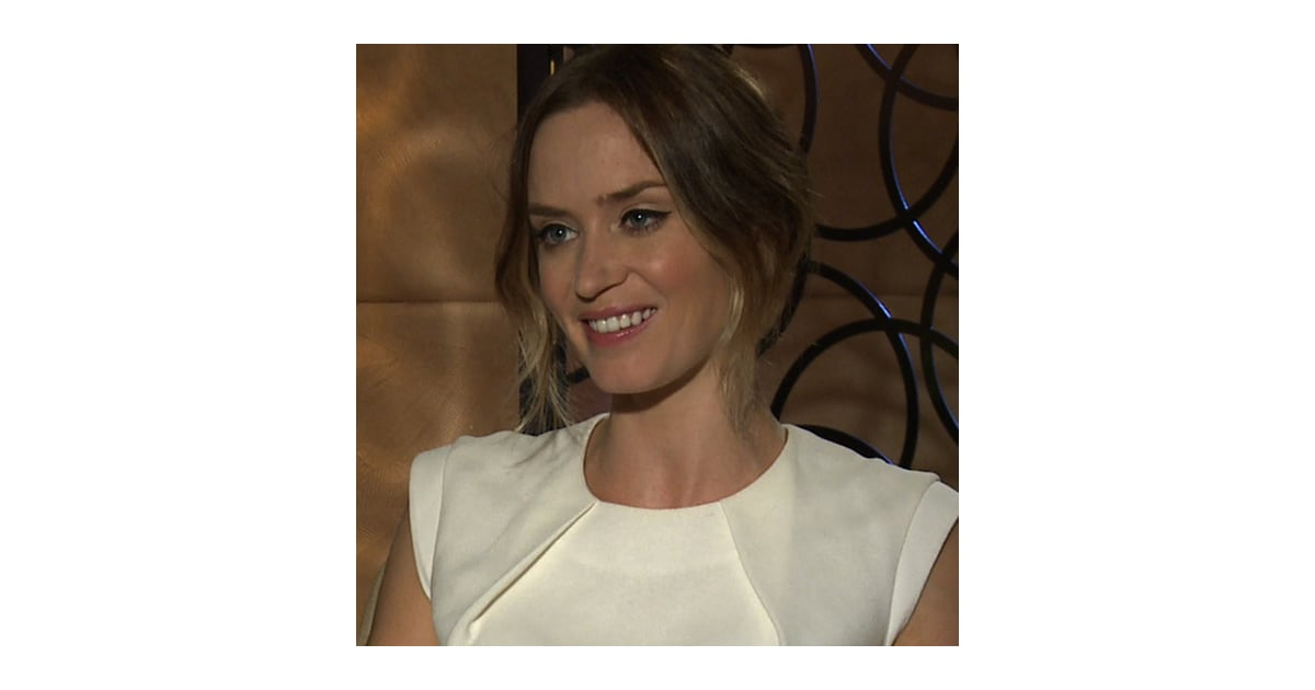 Emily Blunt Interview ...