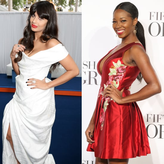 Jameela Jamil and Jamelia Feud Over Plus Sizes