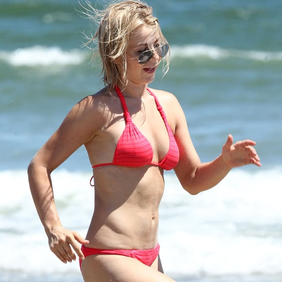 Julianne Hough Bikini Pictures With Her Dogs