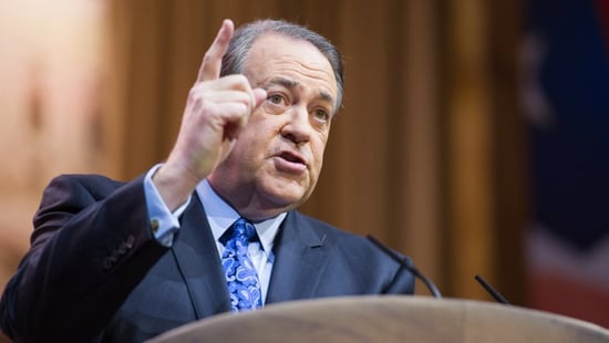 """""""The Real Movement In America Should Be Male Lives Matter,"""" Says Mike Huckabee"""