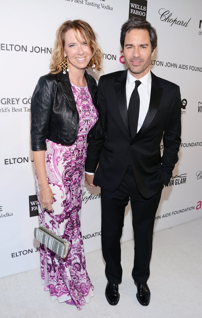 Janet Holden and Eric McCormack