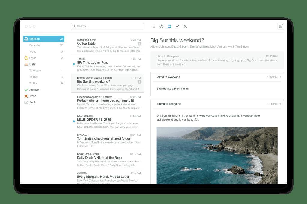 Mailbox for Mac Desktop Beta
