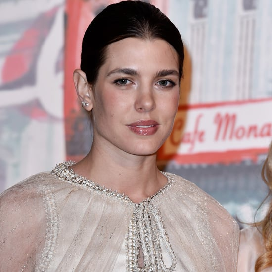 Charlotte Casiraghi Wearing Chanel Cape at Rose Ball 2016
