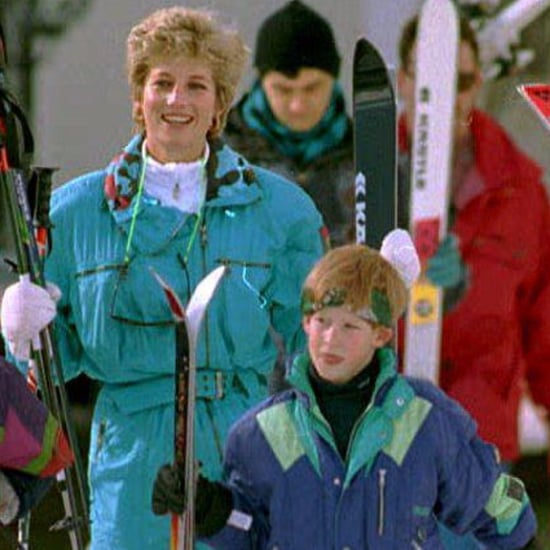 Prince William and Prince George Ski Pictures