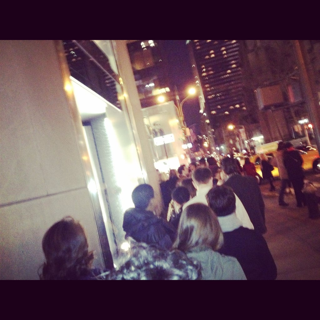 Yes we did. We braved the line's at Marni's H&M launch in NYC.
