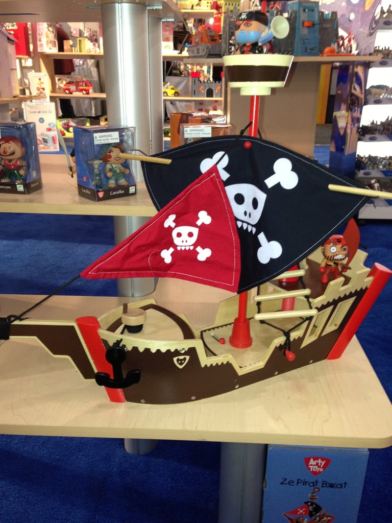 Ahoy, mateys! We went crazy over Le Toy Van's pirate ship.