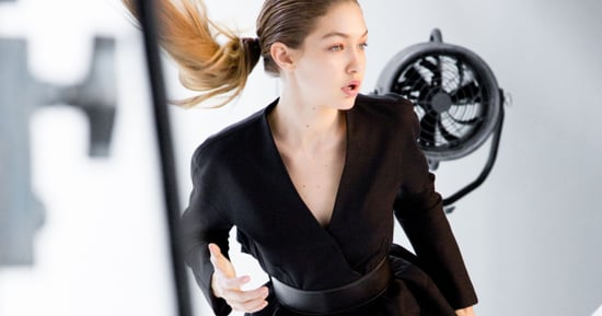 Gigi Hadid Shows Off Her Boxing Moves for Stuart Weitzman