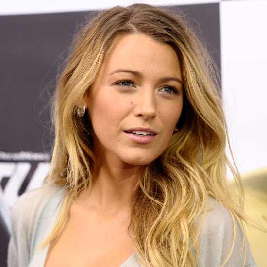 Blake Lively Ombre Hair   Turbo Premiere 2013