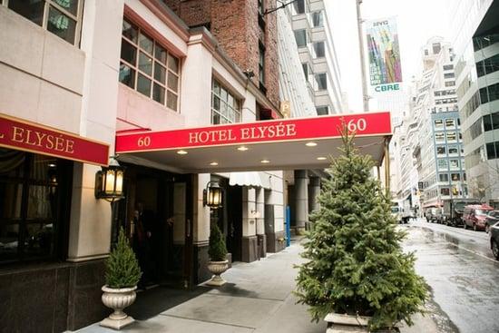 NYC Travel: The Hotel Elysée