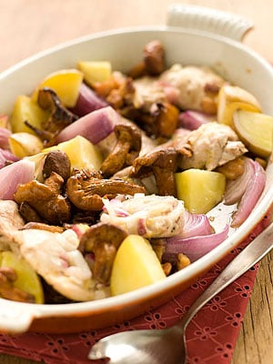 Sunday Dinner: Lemon Roasted Chicken Thighs