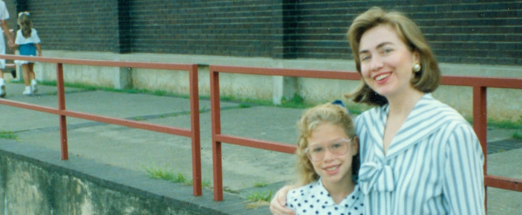 Throwback Thursday: Me and My Mom, Hillary Clinton